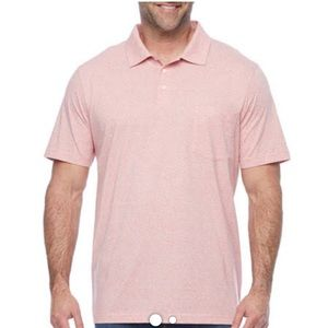 The foundry big & y'all supply co men's pink polo